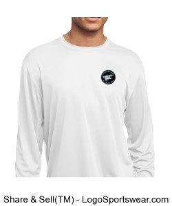 Sport-Tek Youth Long Sleeve PosiCharge Competitor Tee Design Zoom