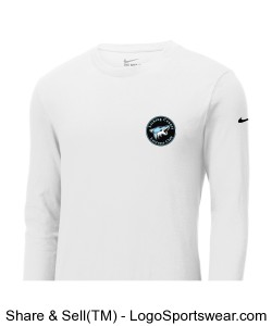 Nike Adult Core Cotton Long Sleeve Design Zoom